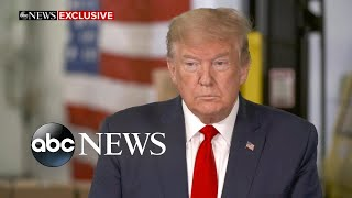 Trump explains state of the country amid coronavirus l ABC News