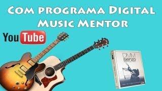 Como Descobrir Os Acordes & Baixos De Uma Música Com #Digital Music Mentor!