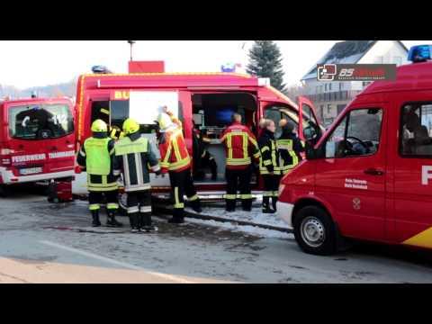 Brand in Dachstuhl in Burtenbach im Kreis Günzburg