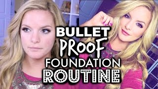 My BULLETPROOF Foundation Routine! Sweat / Heat / Humidity Resistant | Casey Holmes
