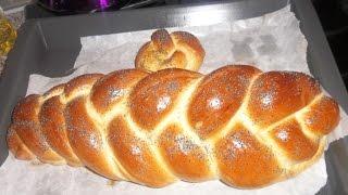 Обзор разных видов хлеба в хлебопечке Panasonic. Хала. Часть1