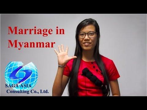 Marriage In Myanmar