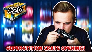 20 NEW ELEVATION SUPERSTITION CRATE OPENING IN ROCKET LEAGUE!