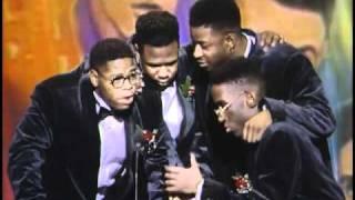 Boyz II Men Win Favorite New Soul/R&B Artist - AMA 1992