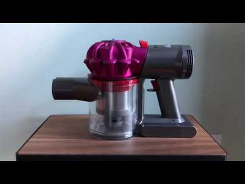 how to find the serial number on a dyson v7 vacuum youtube. Black Bedroom Furniture Sets. Home Design Ideas