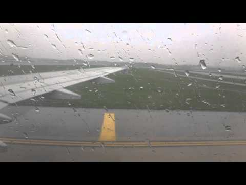 Landing on Day after the Tornado at Lambert St. Louis Intl Airport