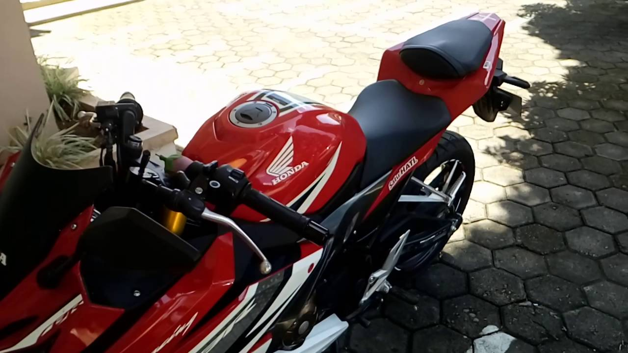 all new cbr 150r with shock upside down cover(review jilid dua