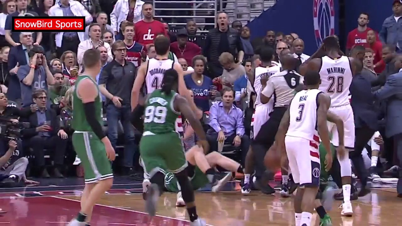A Fan Brawl At Wizards-Celtics Game 7 Caused A Bloody Mess In Boston
