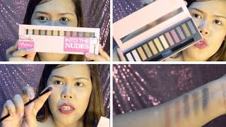 Bobbie Cosmetics INTO THE NUDES Eyeshadow Palette | First Impression Review, Swatches + Tutorial