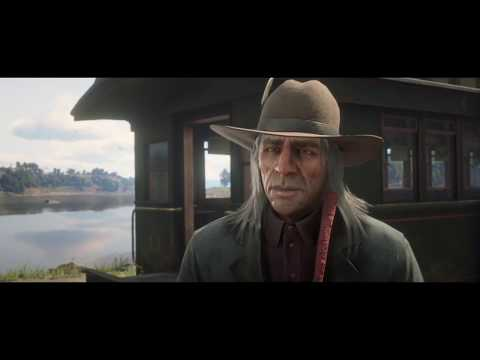 Meeting Rains Fall after Ending *SPOILERS* Red Dead Redemption 2