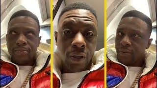 Boosie Explains Why He Don't Take Private Jets!