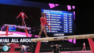 Simone Biles - Balance Beam - 2015 World Championships - All-Around Final