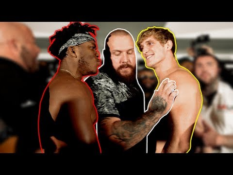THE OFFICIAL KSI VS. LOGAN PAUL WEIGH INS…