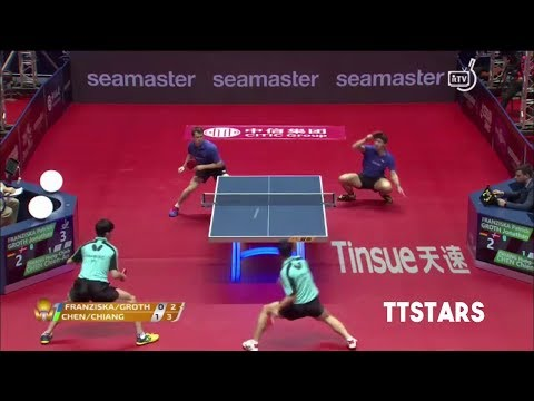 FRANZISKO/GROTH vs CHEN/CHANG (IITF World Tour Grand Finals 2017)