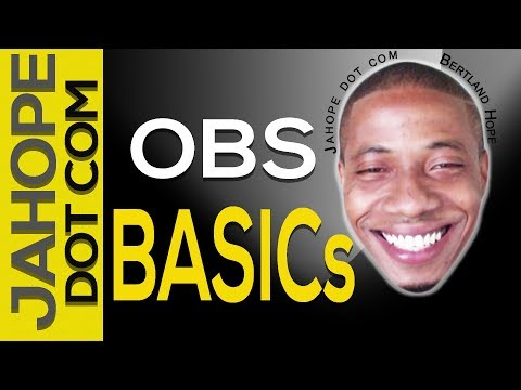 obs quick guide, obs tutorial | Studio Official Start Guide | how to make live video,