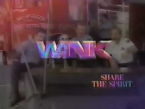 WINK-TV 1986 Share The Spirit Image Promo CBS