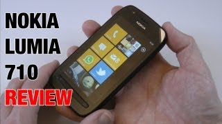 Nokia Lumia 710 Mobile Phone Review