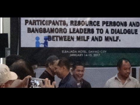 Bangsamoro Leaders' Dialogue between MILF and MNLF - Davao City