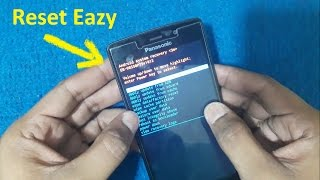 Panasonic P75 Hard Reset And Pattern Lock Reset Format Eazy 100%