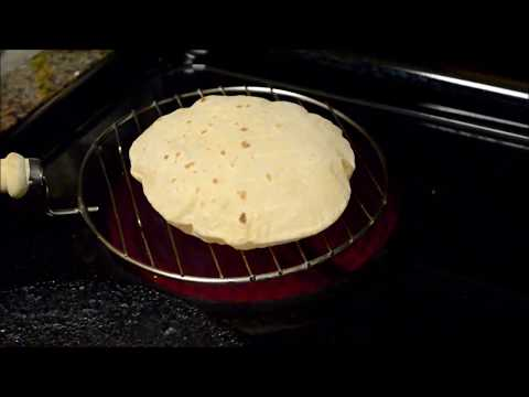 How to Make Roti/Chapati/Phulka on Electric Stove