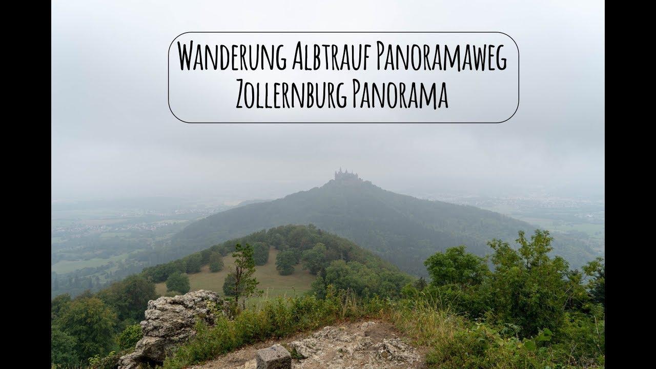 Albtrauf Panoramaweg Wanderung Blick Zur Burg Hohenzollern Youtube