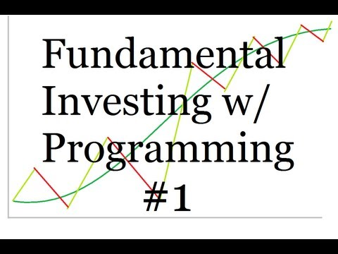 Using Programming for Fundamental Investing - Intro and Python