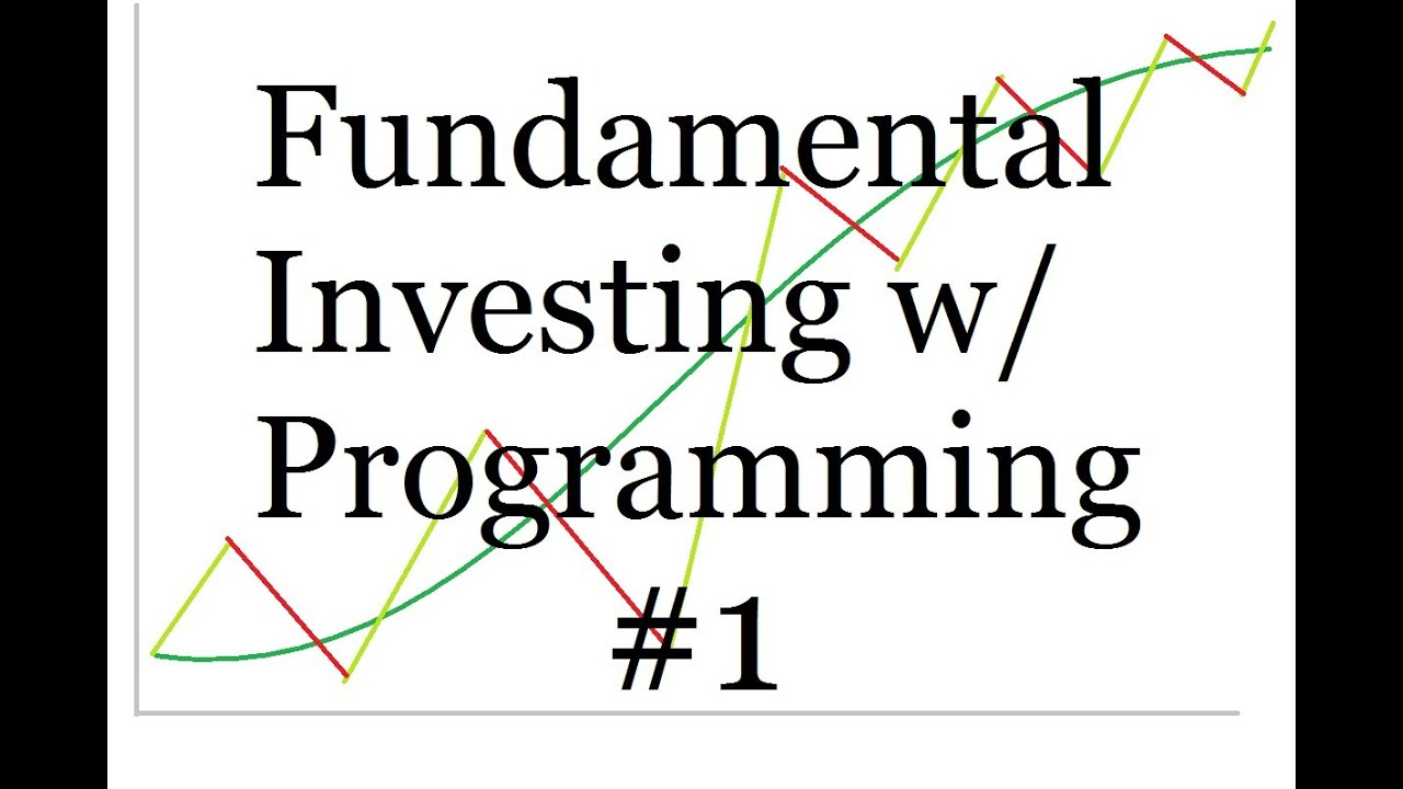 Using Programming for Fundamental Investing - Intro and