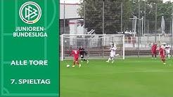 FC Bayern setzt Statement im Südschlager | Alle Tore der A-Junioren-Bundesliga | 7. Spieltag