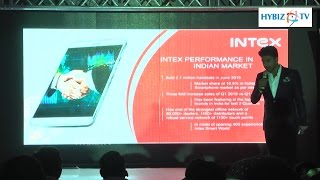 Intex Technologies Indian Mobile Brand Rrocking The market - Hybiz.tv