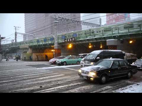 The heavy snow in Tokyo / 2014年2月8日(土曜日)東京に降った大雪のようす