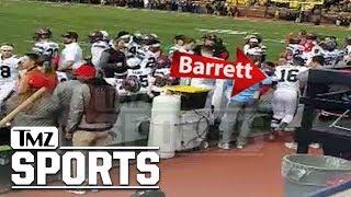 J.T. Barrett Camera Collision Aftermath Caught On Video | TMZ Sports