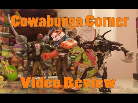 TMNT Review: Robotic Foot; Tiger Claw And Rahzar