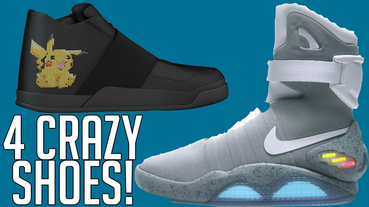 4 CRAZY Shoes You NEED To See!