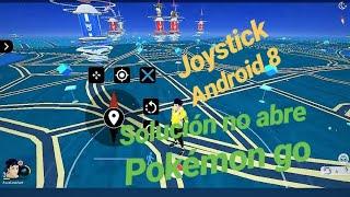Hack joystick Pokémon go Android 8, solución actualización automática de Google play services