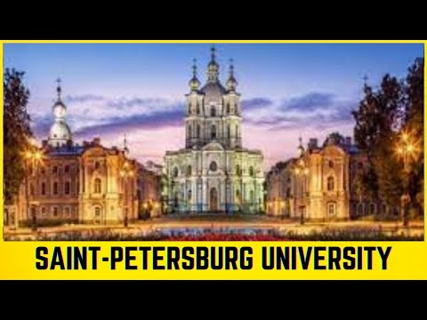 The Oldest University in Russia || Saint-Petersburg State University