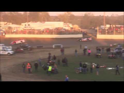 Super Late Model Heat #3 from Florence Speedway, October 22nd, 2016.