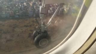 Landing at Nepal Trivuban Airport, US Bangla
