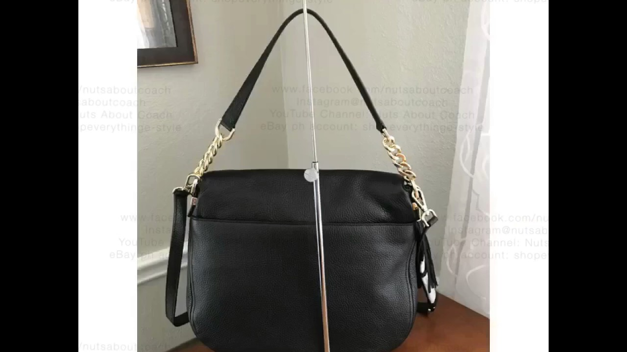 a7db52b3fa14 ... cheapest michael kors bedford large convertible tassle shoulder crossbody  bag black 89036 c1aff