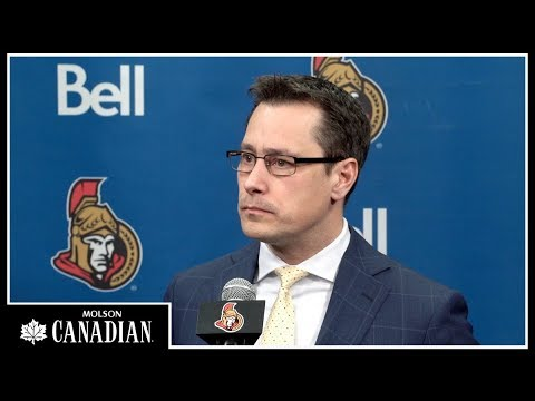 Sens vs. Flyers - Boucher Post-game