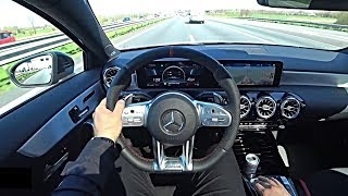 The New Mercedes A35 AMG 2019/2020 Test Drive