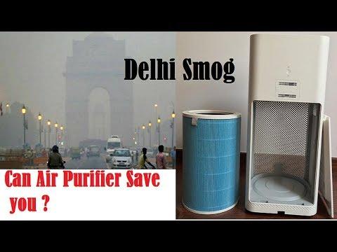 Delhi Smog - Can Air Purifier Save you ? Mi Air 2