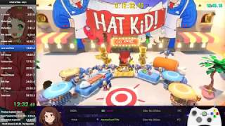 A Hat In Time Any% Speedrun in 56:47 (Personal Best)