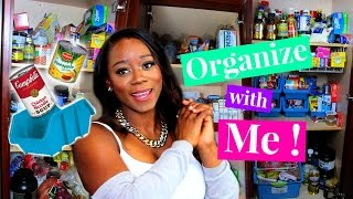 Organize With Me! Pantry Organization | Tips for an Organized Pantry on a Budget