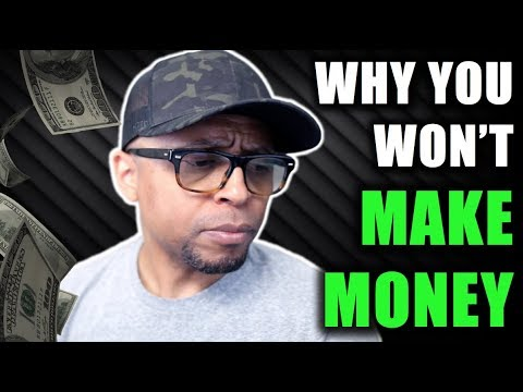 5 Reasons Why You Won't Make Money Online