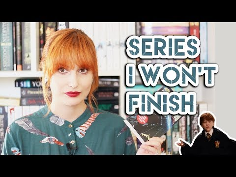 Top Book Series I Won't Finish