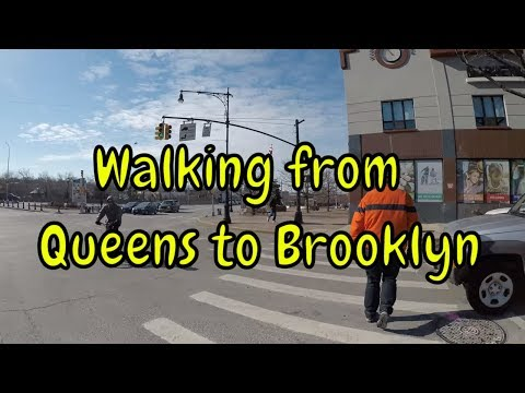 ⁴ᴷ Walking Tour of Queens & Brooklyn, NYC - Grand Avenue/Grand Street from Elmhurst to Williamsburg