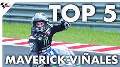 Maverick Viñales' Top 5 Moments from 2019