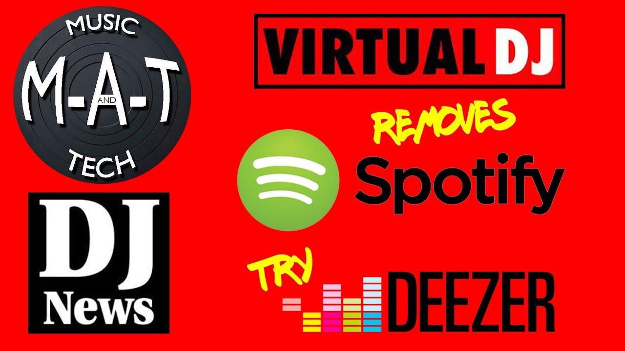 virtual dj com spotify