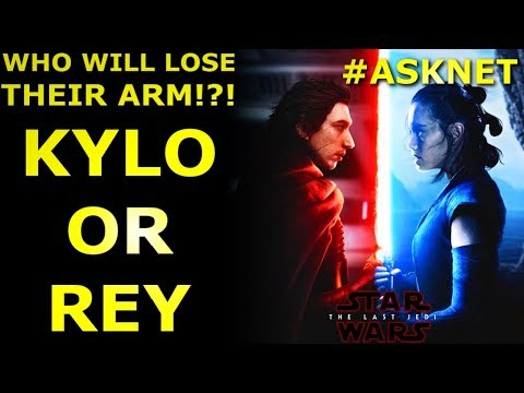 Download Youtube: Will Kylo Ren or Rey Lose Their Arm in The Last Jedi? #ASKNET