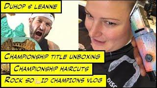 duhop championship title belts and championship haircuts vlog